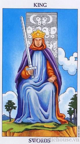 Ý nghĩa của lá bài tarot King of Swords