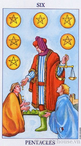 Y Nghĩa La Bai Tarot Six Of Pentacles Like the falcon in the nine astrologically, the nine of pentacles corresponds to venus in virgo. y nghĩa la bai tarot six of pentacles