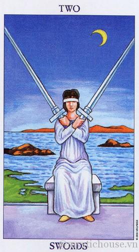 Ý nghĩa của lá bài tarot Two of Swords