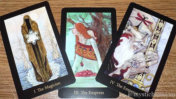 bộ bài tarot Mary-el Tarot