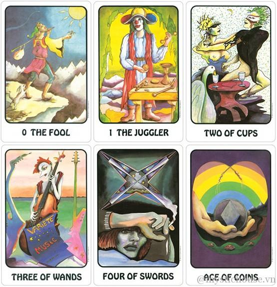 Mua bài Karma Tarot