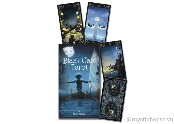 Cảm nhận ý nghĩa 78 lá bài bộ bài Black Cats Tarot