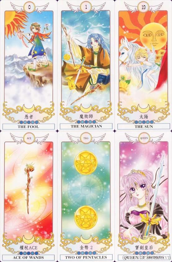 Bán bài Manga Tarot - Selena Lin