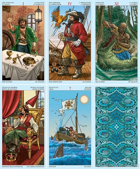 Bán bài Tarot of Pirates