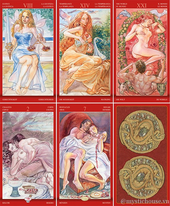 Bán bài Tarot of Sexual Magic