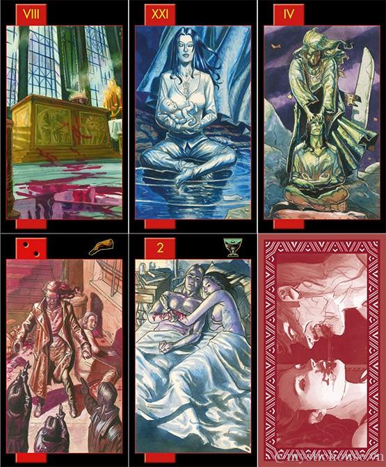 Bán bài Gothic Tarot of Vampires