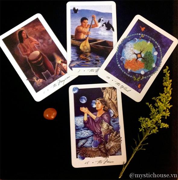 Gaian Tarot - Cảm Nhận Bộ Bài Tarot về Đất Mẹ