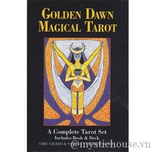 Golden Dawn Magical Tarot cover