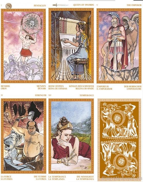 Olympus Tarot – Thế Giới Của Các Vị Thần Hy Lạp Cổ