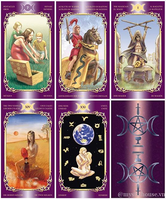 Bán bài Sensual Wicca Tarot