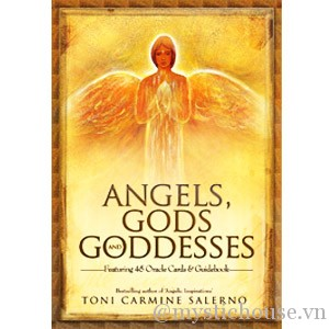 Angels, Gods and Goddesses Oracle Cards cover
