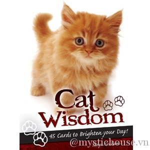 Cat Wisdom Cards cover