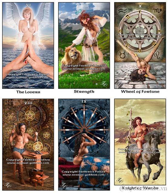 Bán bài Sensual Goddess Tarot