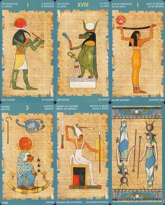 Bán bài Tarot of Cleopatra