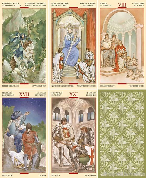 Bán bài Tarot of the Holy Grail