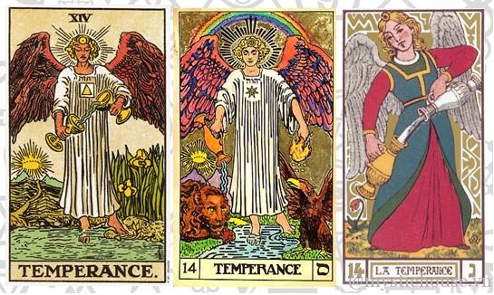 Ý nghĩa lá bài Tarot Temperance