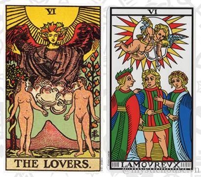 ý nghĩa lá bài tarot The Lovers