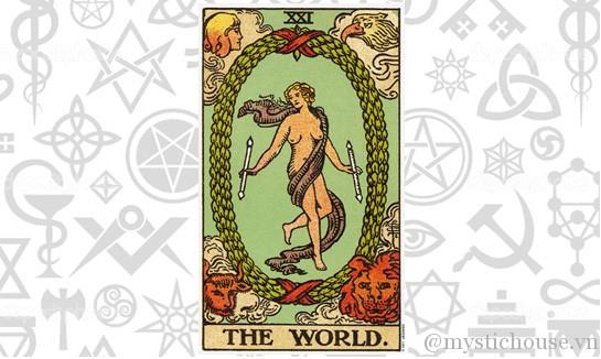 ý nghĩa lá bài Tarot The World