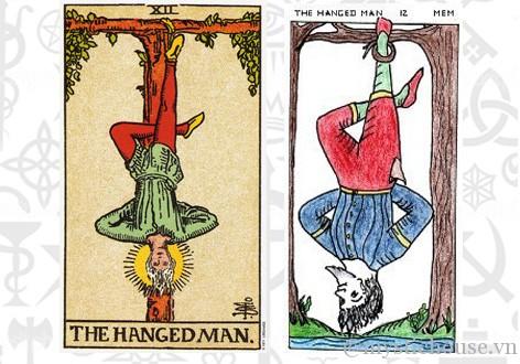 ý nghĩa lá bài tarot the hanged man