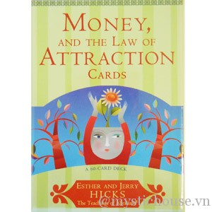 Money and the Law of Attraction oracle cards cover