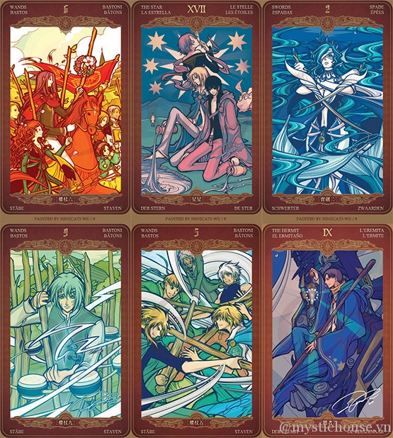 Oze69 Watchers Tarot