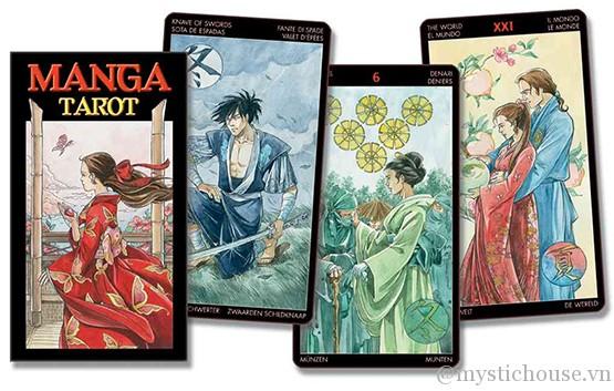 Manga Tarot - Lo Scarabeo
