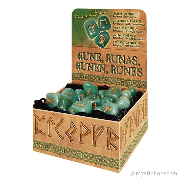 Green Aventurine Runes 3
