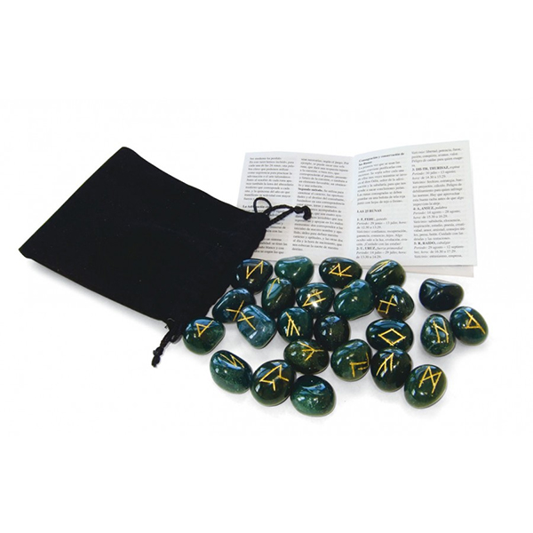 Bộ Đá Runes Bloodstone 11