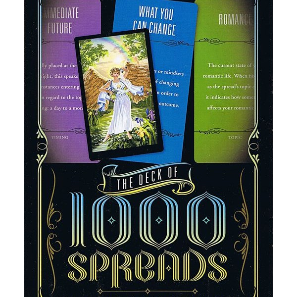 Deck of 1000 Spreads: Your Tarot Toolkit for Creating the Perfect Spread for Any Situation Cards 21