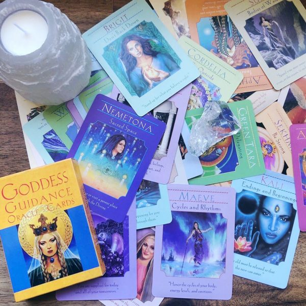 Goddess Guidance Oracle Cards 1