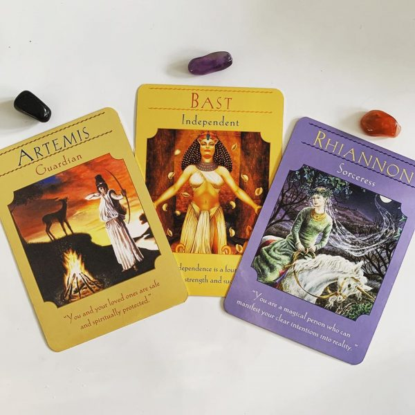 Goddess Guidance Oracle Cards 7