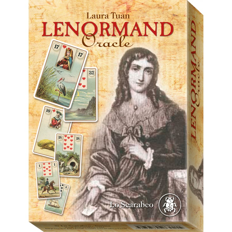 Mlle Lenormand Blue Owl 2