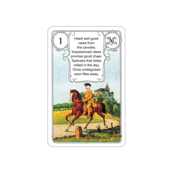 Mlle Lenormand Blue Owl 1