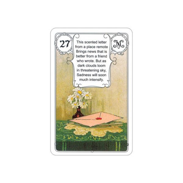 Mlle Lenormand Blue Owl 6