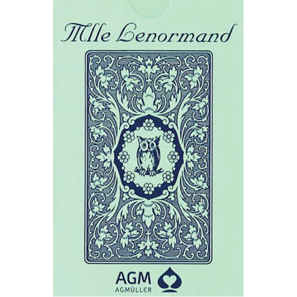 Mlle Lenormand Blue Owl 22