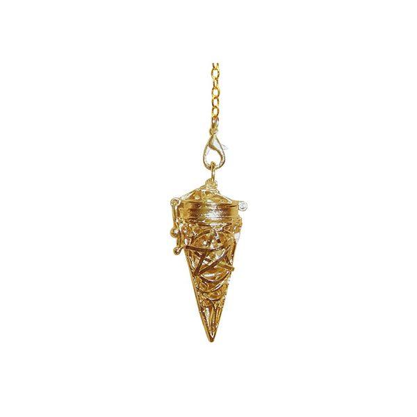 Pagan Pentacle Gold Chamber