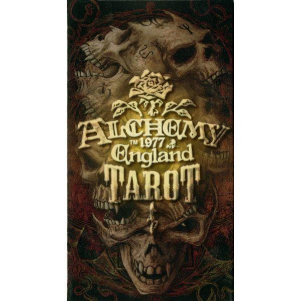 Alchemy 1977 England Tarot cover