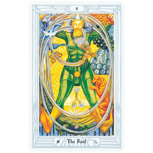 Aleister Crowley Thoth Tarot 1