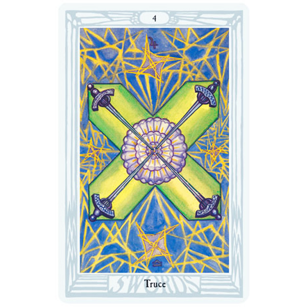 Aleister Crowley Thoth Tarot 5