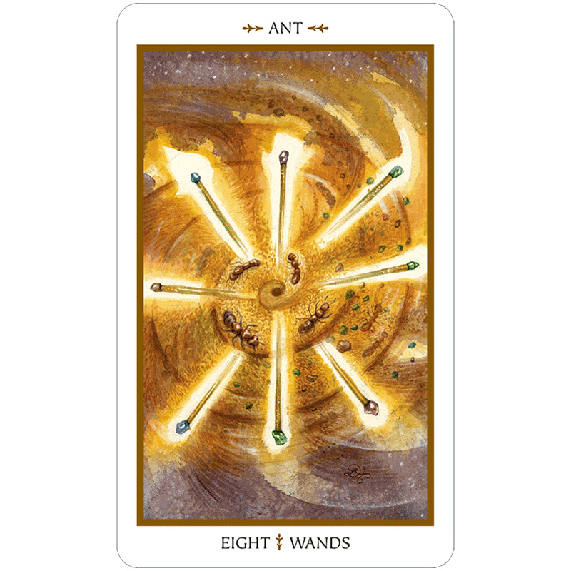 Animals Divine Tarot 6