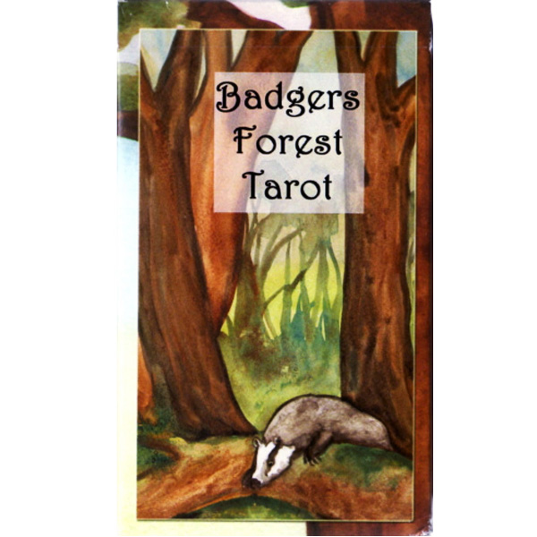 Badgers Forest Tarot 13