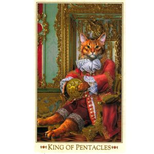 Baroque Bohemian Cats' Tarot 12