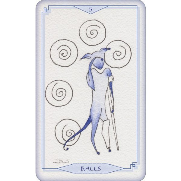 Bleu Cat Tarot 1