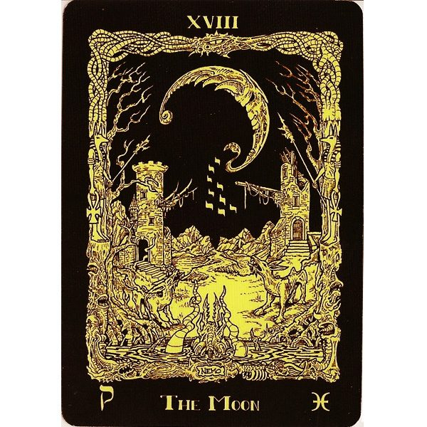 Book of Azathoth Tarot 3