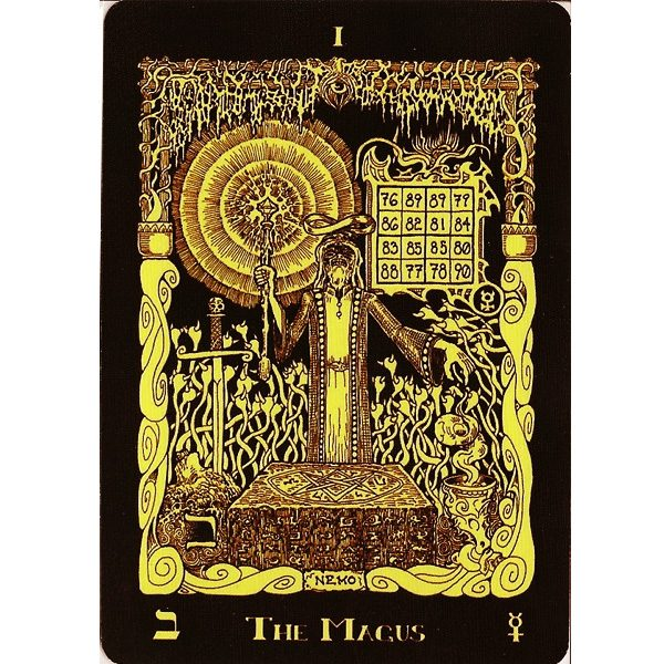 Book of Azathoth Tarot 4