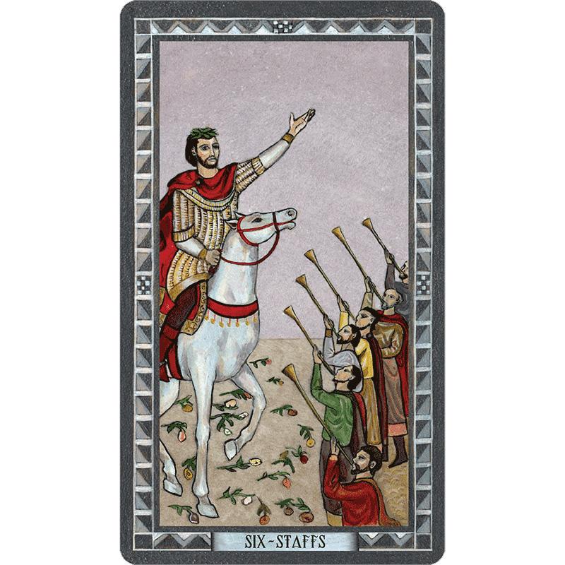 Byzantine Tarot 4