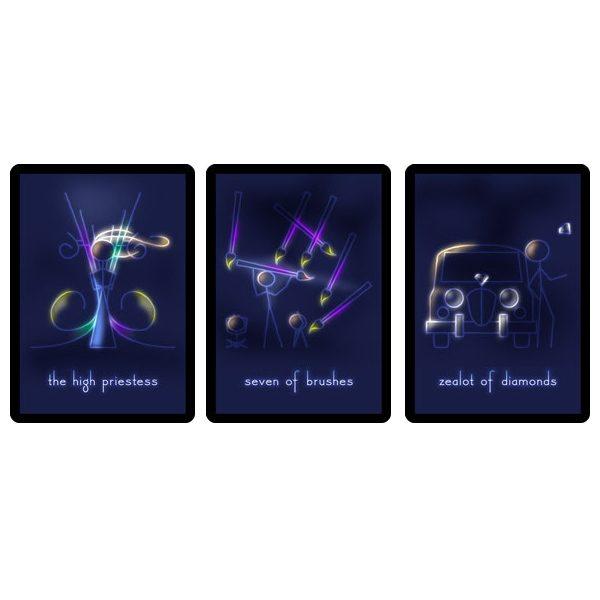 Celestial Stick People Tarot 3