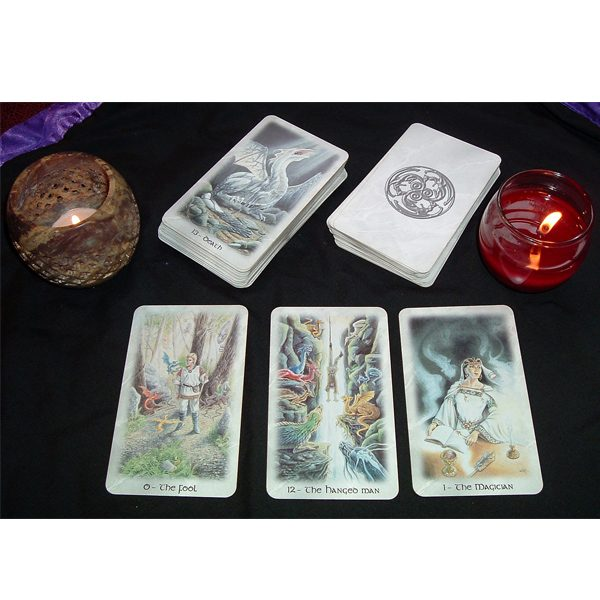 Celtic Dragon Tarot 8