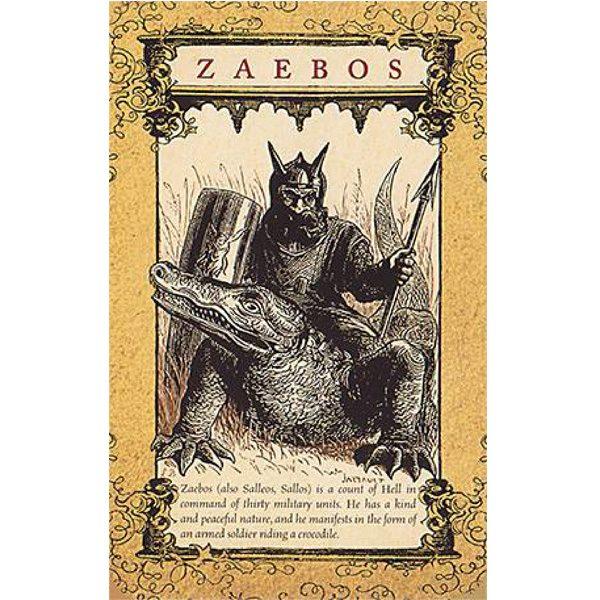 Daemon Tarot 3