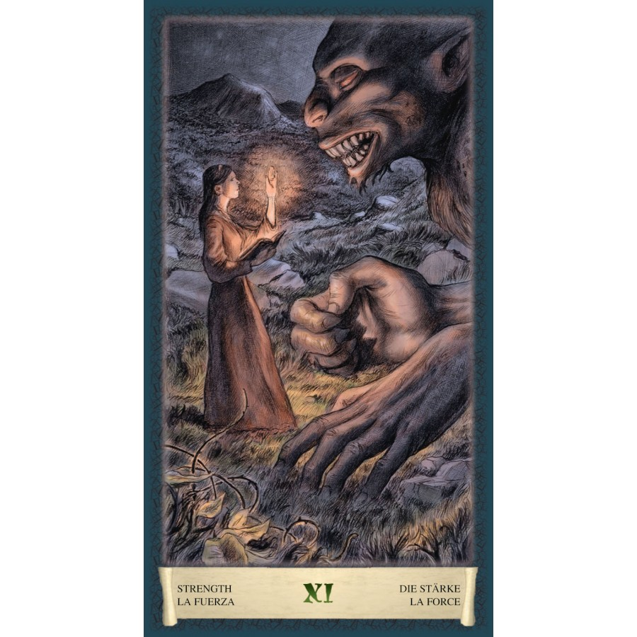 Dark Grimoire Tarot 4